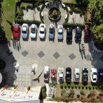 Nasz parking z lotu ptaka, a raczej drona.