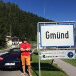 Szczęśliwie dotarliśmy do Gmund w Karyntii.