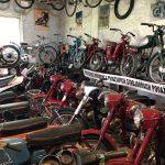 """""""Mini"""" muzeum motocykli mieści się na terenach zajezdni autobusów."""