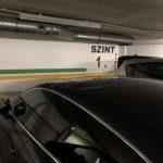 Podziemne parkingi w Budapeszcie są bardzo wąskie. W naszym hotelu Panamera nie zmieściła się.